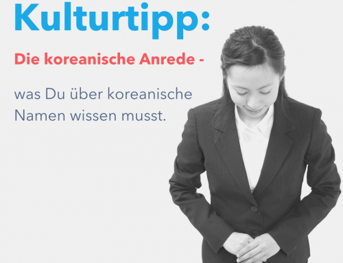 Koreanische Anrede – Was du über koreanische Namen wissen musst