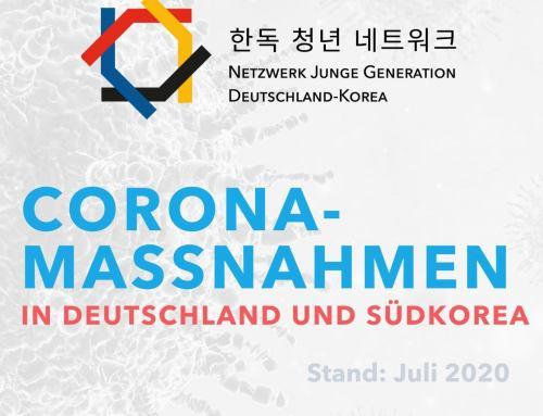 """Coronamaßnahmen in Deutschland und Südkorea"""