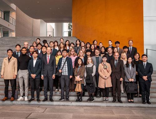 Besuch des Bundeskanzleramtes und Gespräch mit Staatsminister Hoppenstedt