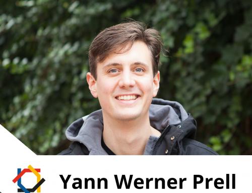 Vorstellung aktiver Netzwerkmitglieder im Podcast: Yann Werner Prell