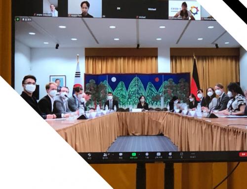 Kennenlernen der Botschafterin der Republik Korea: Frau Dr. CHO Hyun Ock