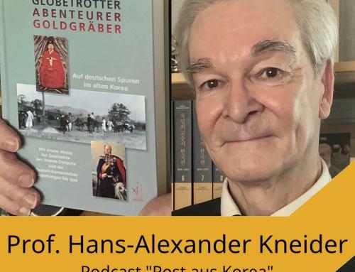 """Aktuelle Folge von """"Post aus Korea"""" mit Herrn Prof. Kneider"""